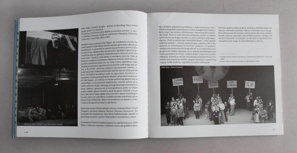 Scena, n°3, 2010, Serbie, pages 66 et 67