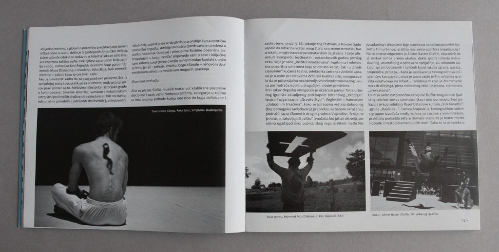 Scena, n°3, 2010, Serbie, pages 70 et 71