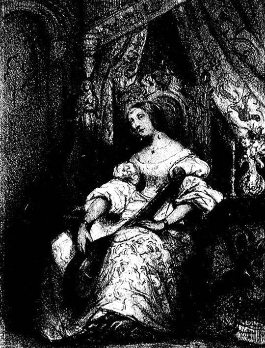 Marie Dorval dans Angelo (Comédie-Française), Le Monde dramatique, mai 1835. Collection particulière