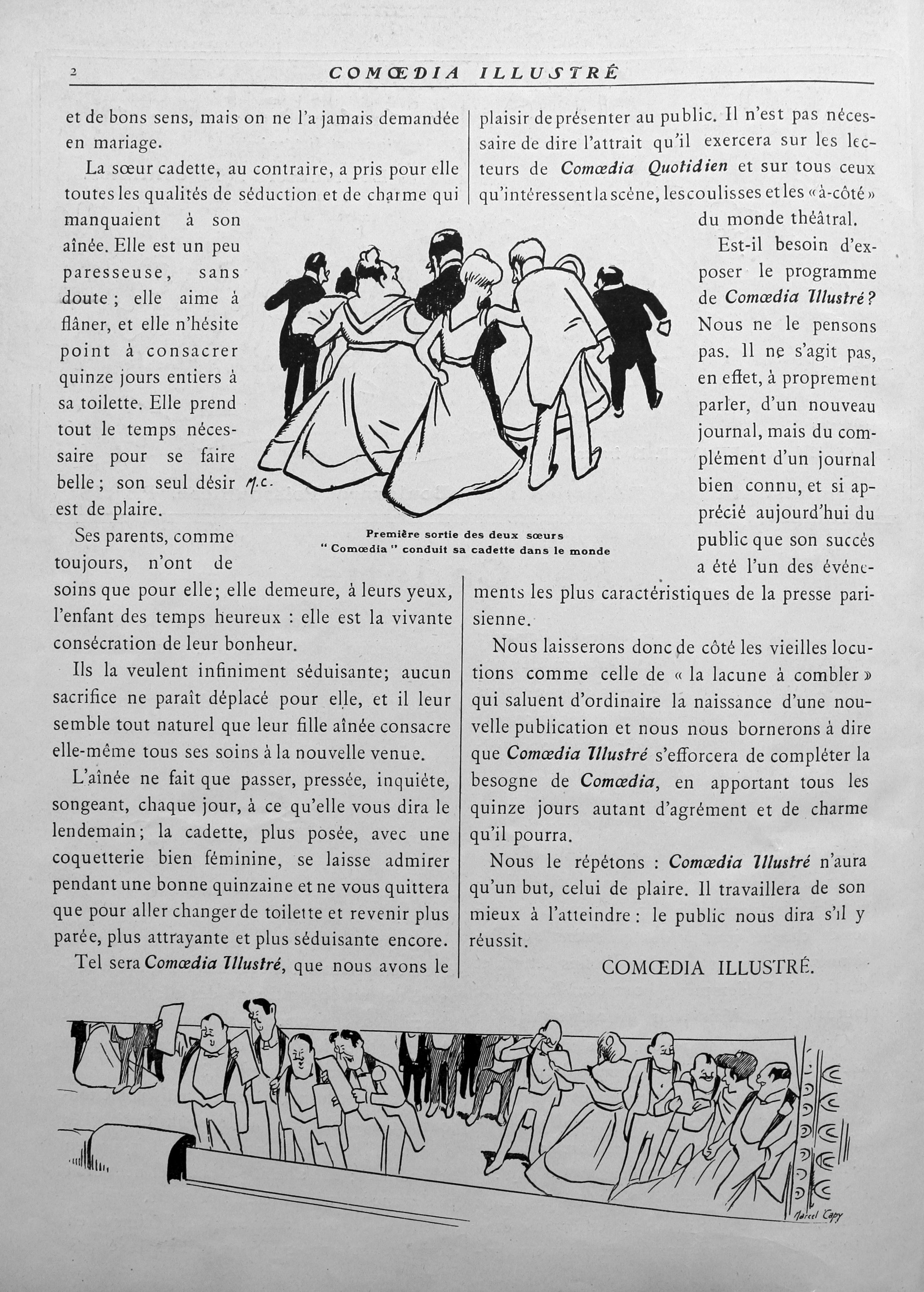 Comoedia illustré, 15 janvier 1909, p. 76