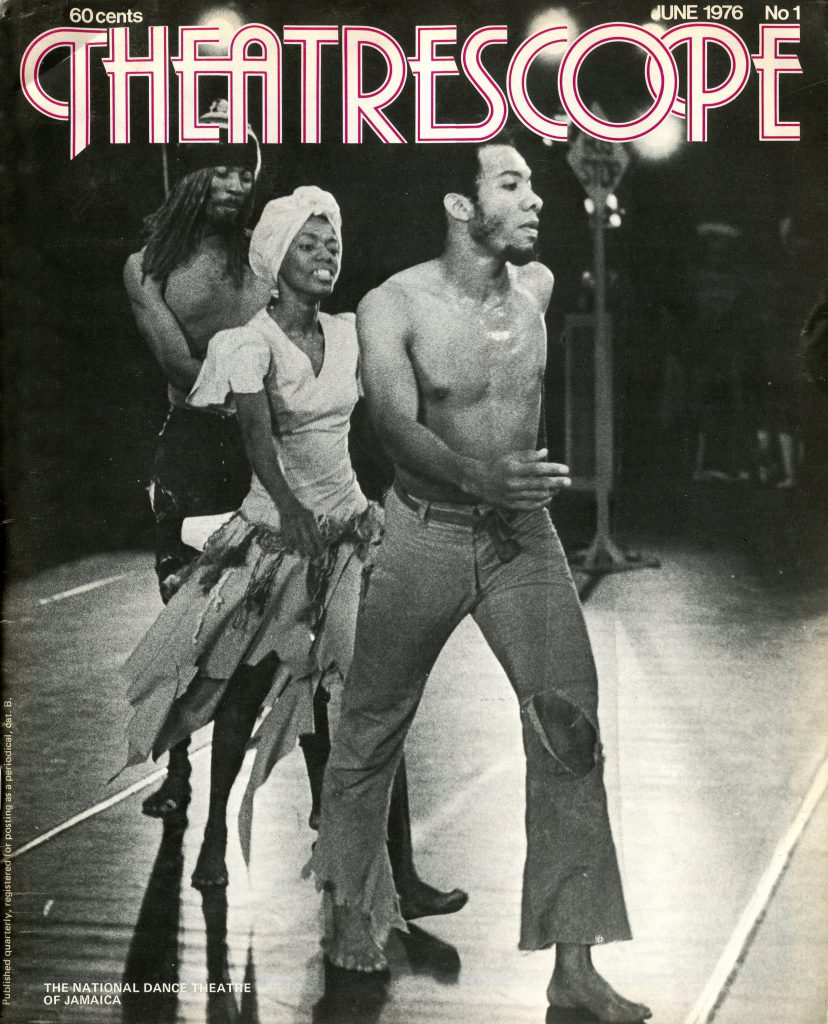 Theatrescope n°1, juin 1976, Australie. Photo : The National Dance Theatre of Jamaica.